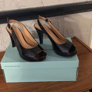 Antonio Melani Navy Blue Heels 👠